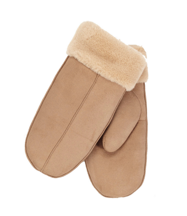 DKR and Apparel Mitts Brown
