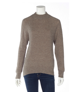 DKR and Apparel L/S mock neck sweater-brown