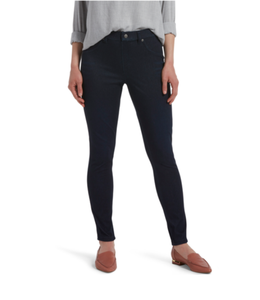 Denim Leggings Black Indigo Wash
