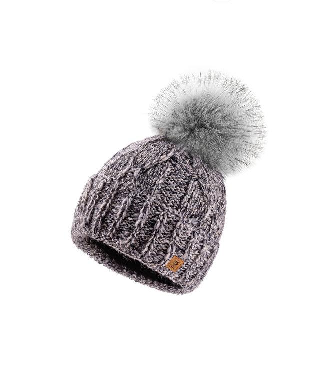 Woolk Tweed Hat-Mary Grey
