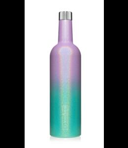Brumate Wine Canteen Glitter Mermaid