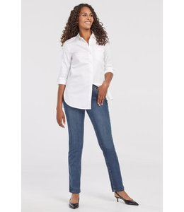 Tribal 5 pkt. straight leg jeans-Retro Blue