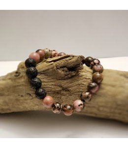 Kristin's Beads Rhodonite