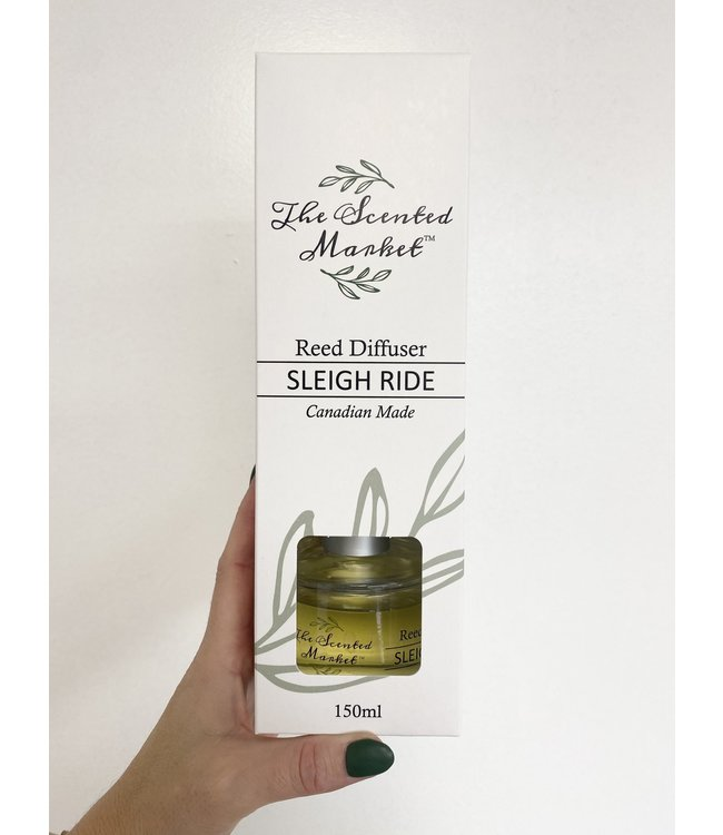 The Scented Market  Reed Diffuser Sleigh Ride