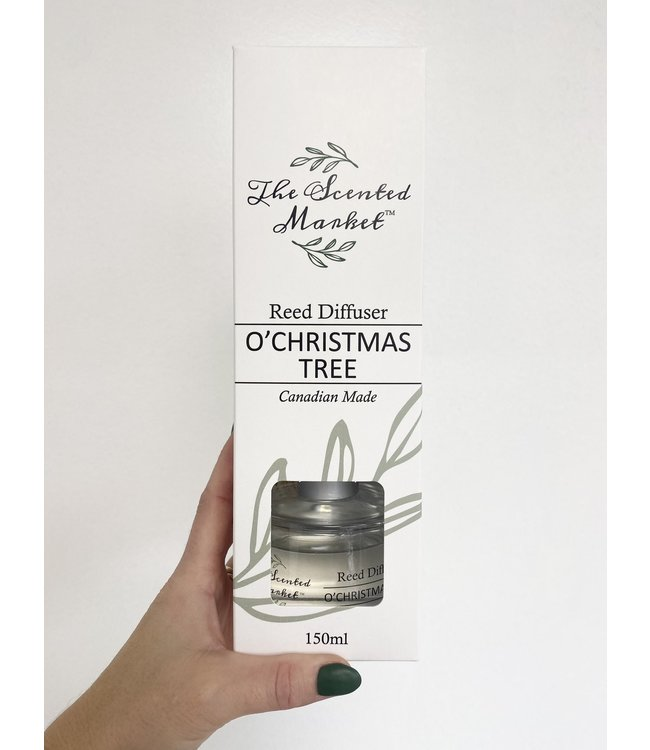 The Scented Market Reed Diffuser O'Christmas Tree