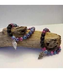 Kristin's Beads Friendship Bracelet set -Malaysia Jade