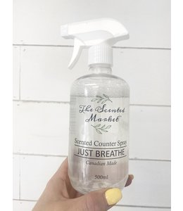 The Scented Market Counter Spray Just Breathe