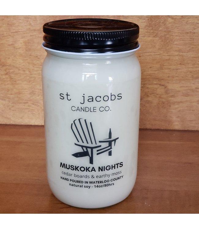Botanical Propaganda Natural Soy candle 14 oz. Muskoka Nights