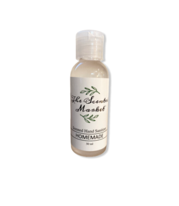 The Scented Market Hand sanitizer 50ml Homemade