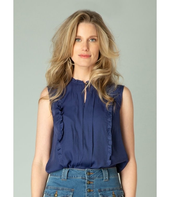 Yest Gisela Top- Marine blue