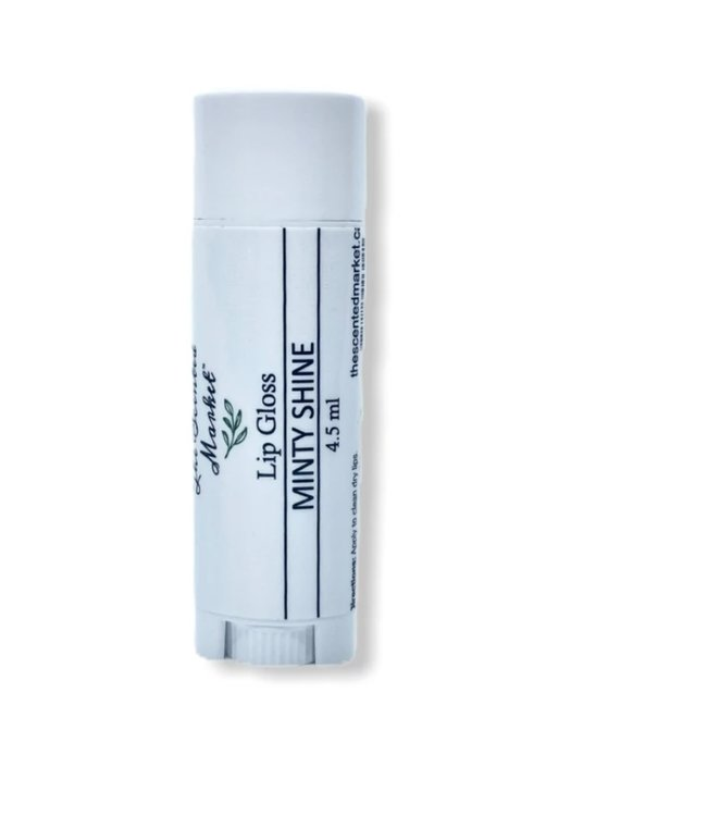 The Scented Market Lip Gloss Minty shine