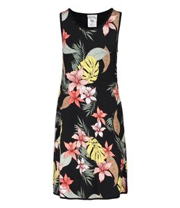 Tribal Reversible A-line dress- Hibiscus