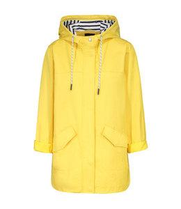 Tribal Stripped lining jacket- Lemon