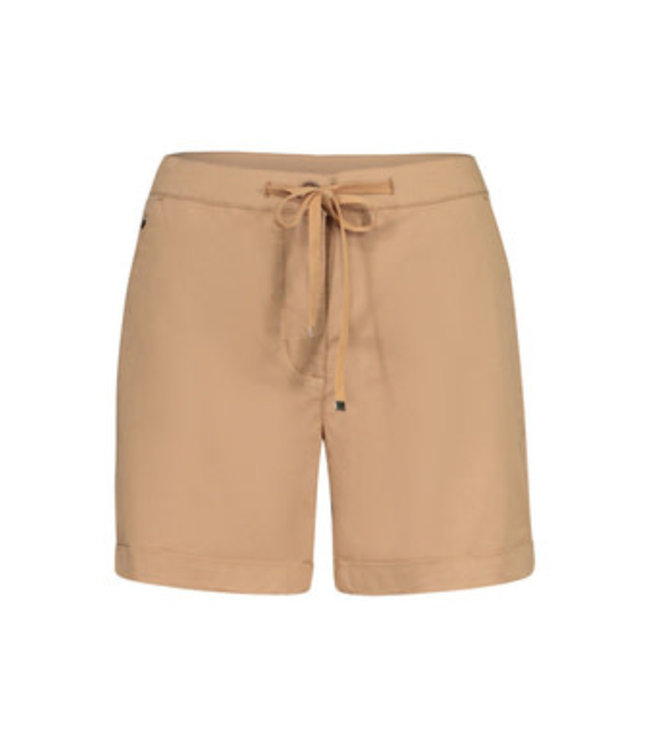 Tribal  Fly Front shorts with  cuffs-       Dune