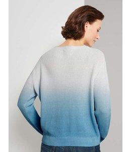Tom Tailor Dip dye pullover- Blue