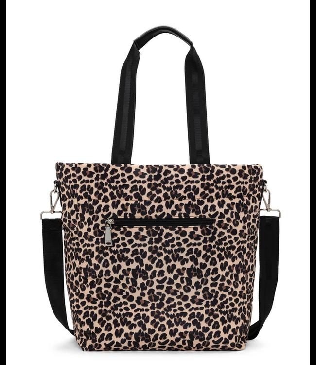 Co Lab Purses Nylon Tote bag leopard print