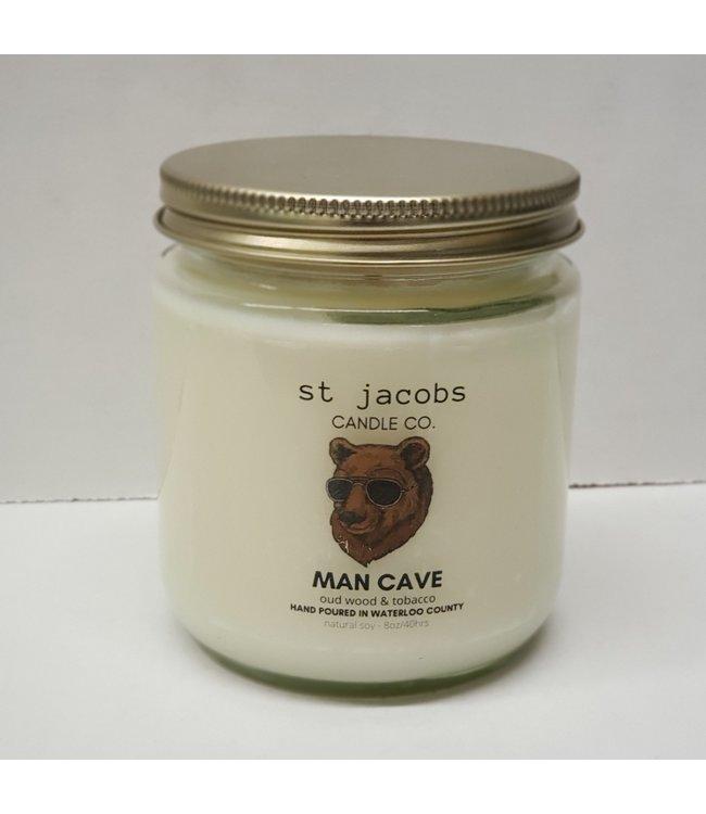 Botanical Propaganda Natural Soy candle 8 oz. Man Cave
