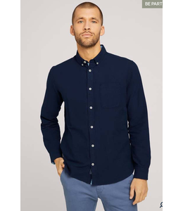 Tom Tailor L/S Oxford shirt Navy