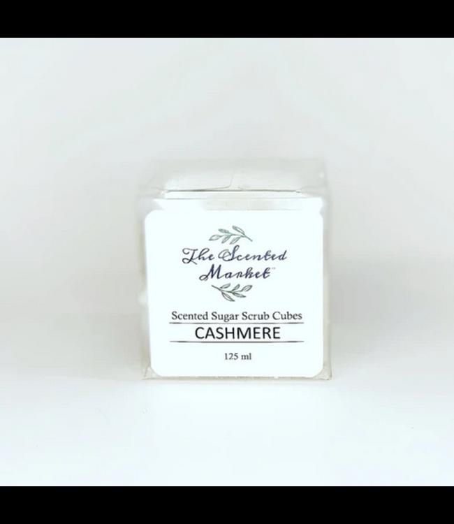 The Scented Market Sugar Scrub Cubes Cashmere
