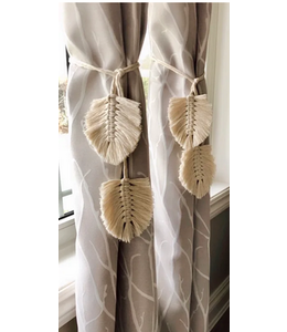 Earthly Basics Curtain Tie Sets -Natural
