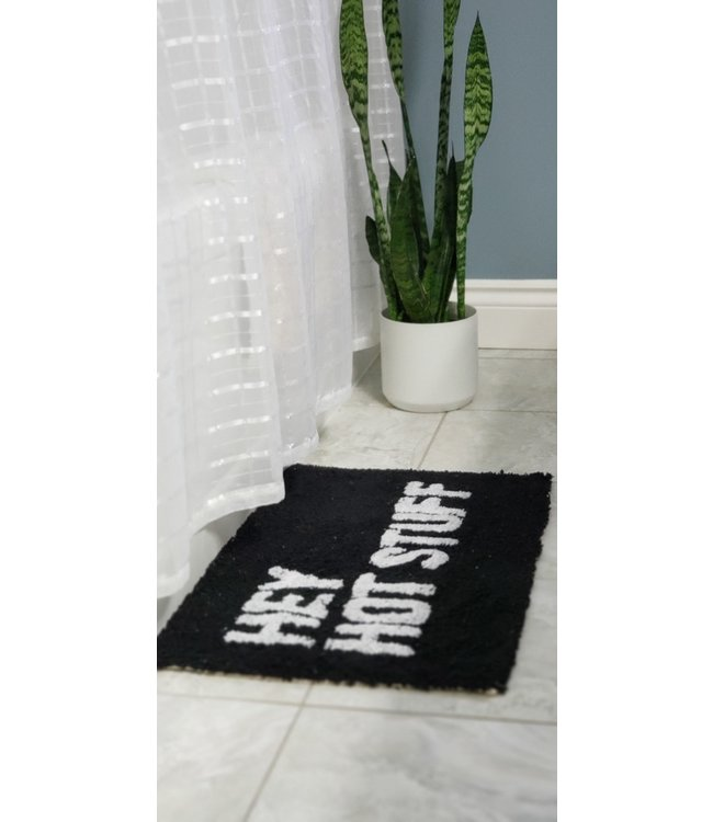 Bath Mat- Hey Hot Stuff