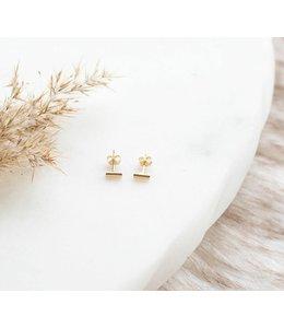 Ari Elle Jewelry Bar studs- 14k gold filled