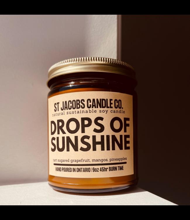 Botanical Propaganda Soy Candle-Drops of Sunshine