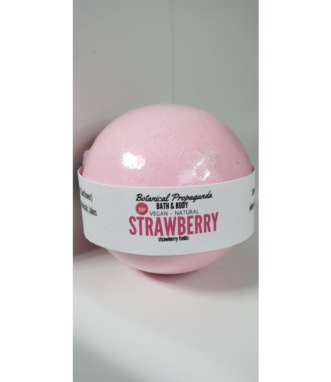 Botanical Propaganda  Bath bomb-Strawberry