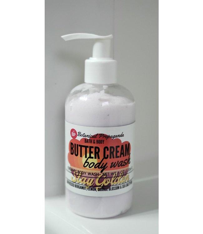 Botanical Propaganda  Butter Cream Body Wash-Stay Golden