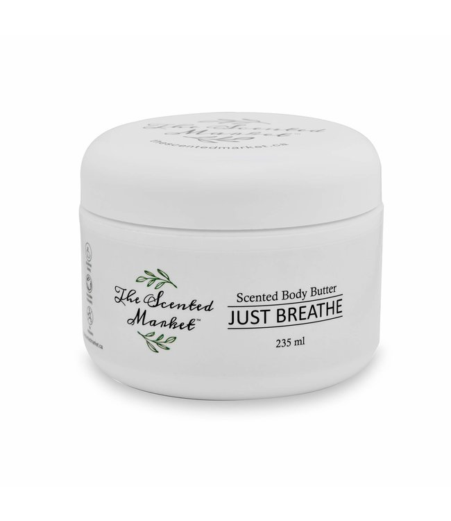 The Scented Market Body Butter- Just Breathe