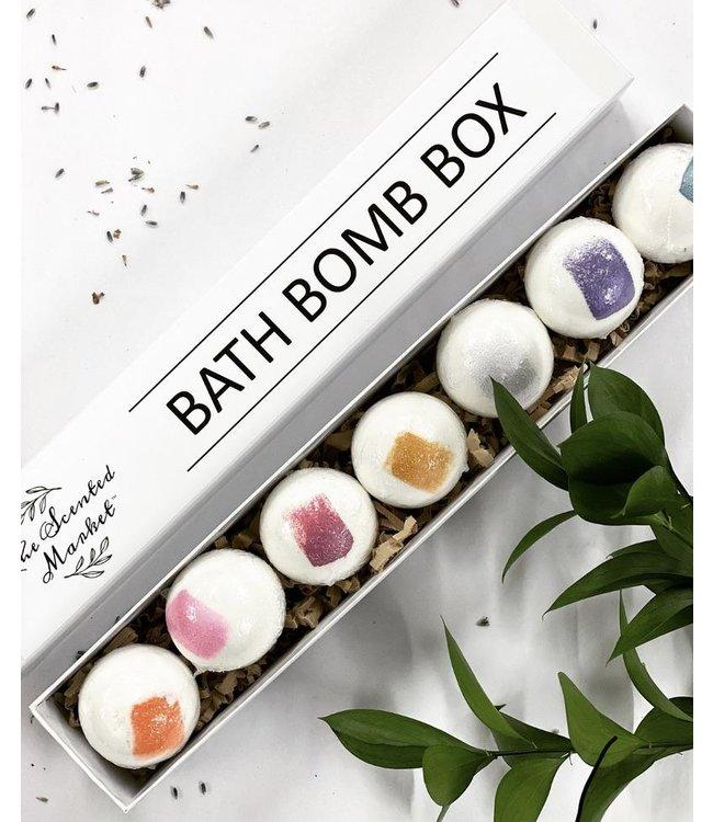 The Scented Market  Bath Bomb Box