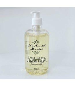 The Scented Market Dish Soap- Lemon Fresh