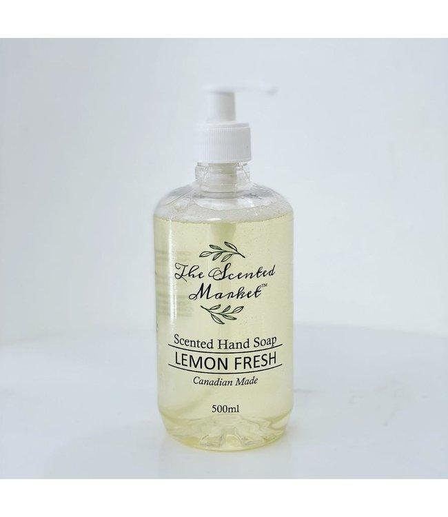 The Scented Market  Hand Soap- Lemon Fresh
