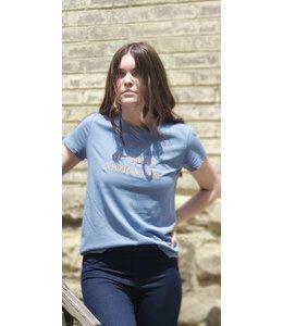 Tom Tailor Sunday Morning T-shirt- Blue