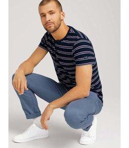 Tom Tailor Striped T-shirt Navy