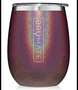 Brumate Uncork'd wine glass Glitter- Merlot