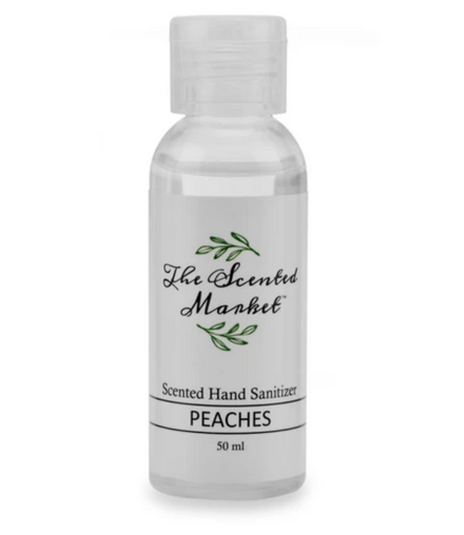 The Scented Market Hand Sanitizer- Peaches