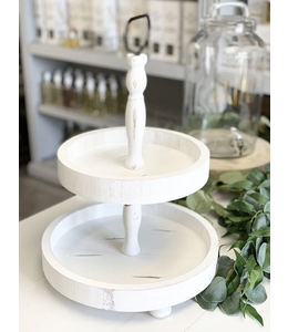 Two Tiered Tray