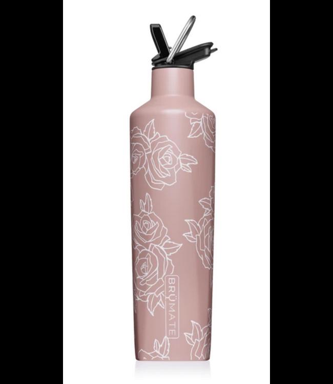 Brumate 25 Oz Rehydration Bottle Rose