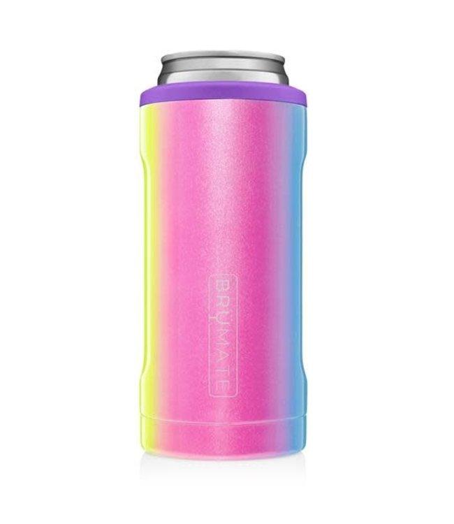 Brumate Hopsulator slim- Glitter Rainbow