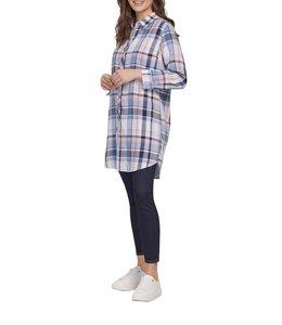 Tribal Reversible Shirt Dress Skyfall