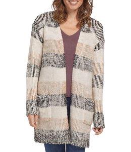 Tribal Sweater Cardigan -Fawn