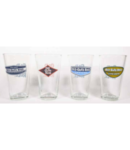 Old Guys Rule 4-pack Pint Glasses