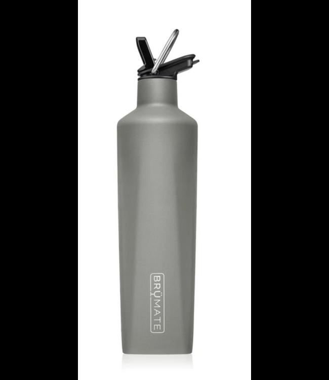 Brumate 25 oz Rehydration Bottle - Matte Gray
