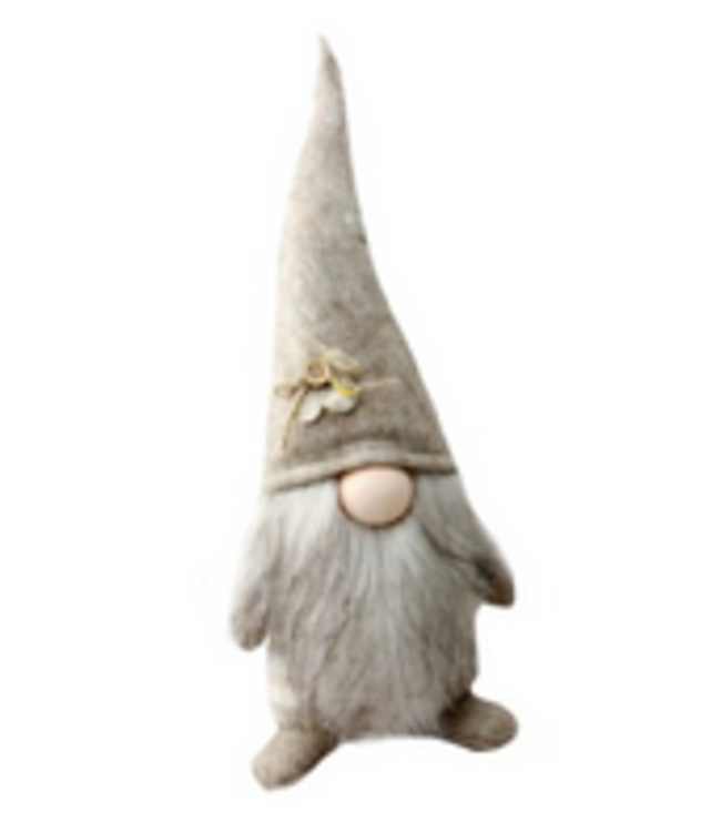 Large standing Gnomes- Beige