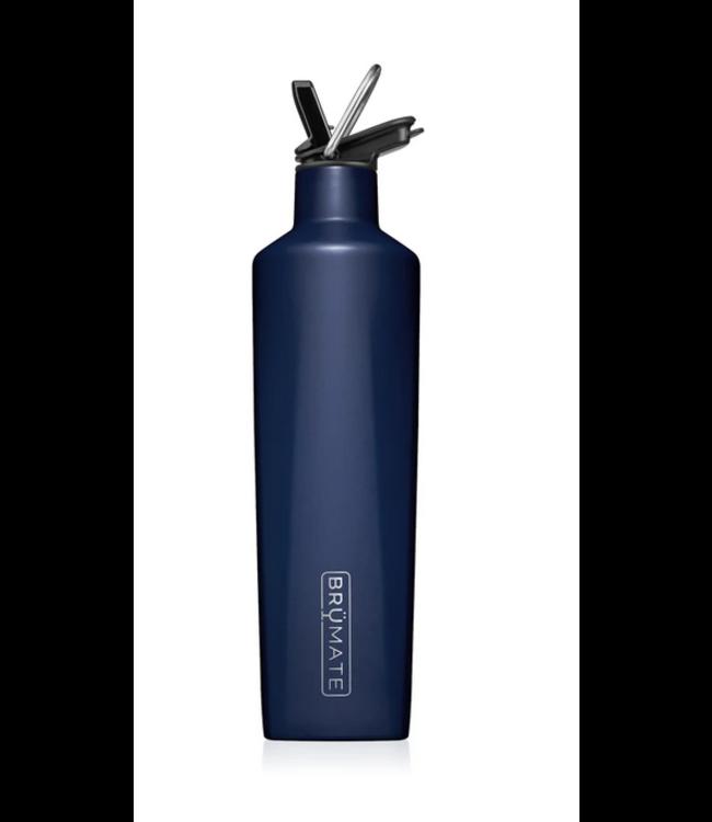 Brumate 25 oz Rehydration Bottle - Matte  Navy