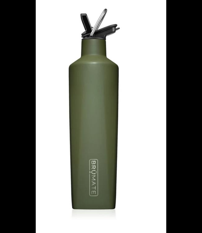 Brumate 25 oz Rehydration Bottle - OD Green