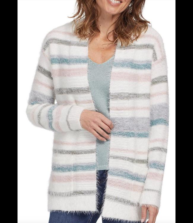 Tribal Sweater Cardigan - BerryFrost