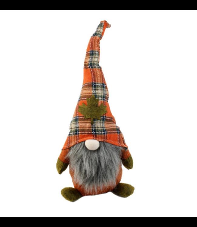 Large Autumn Gnome -Orange
