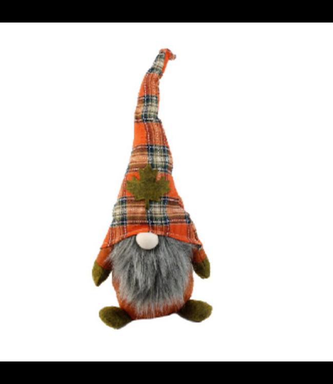 Small Autumn Gnome -Orange